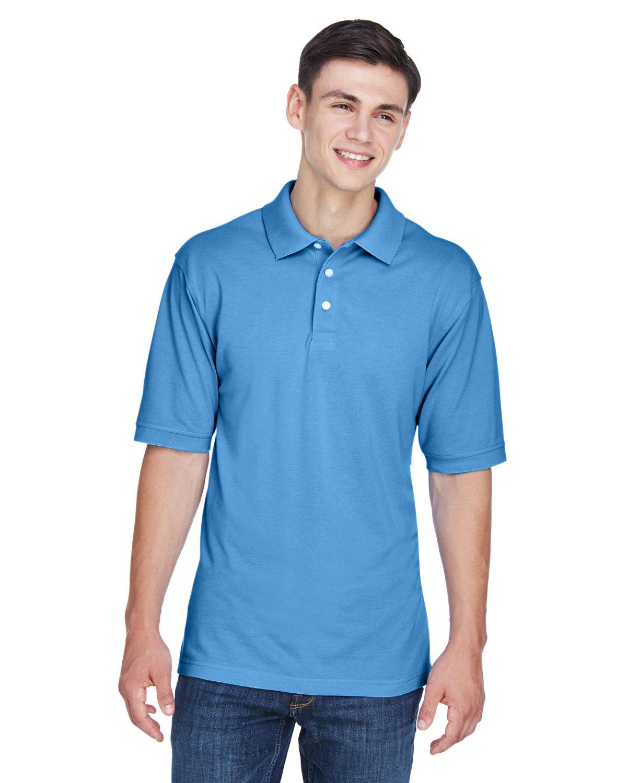Harriton Men's 5.6 oz. Easy Blend™ Polo NAUTICAL BLUE