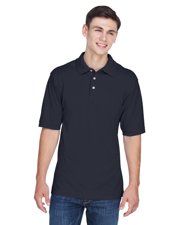 Harriton Men's 5.6 oz. Easy Blend™ Polo NAVY