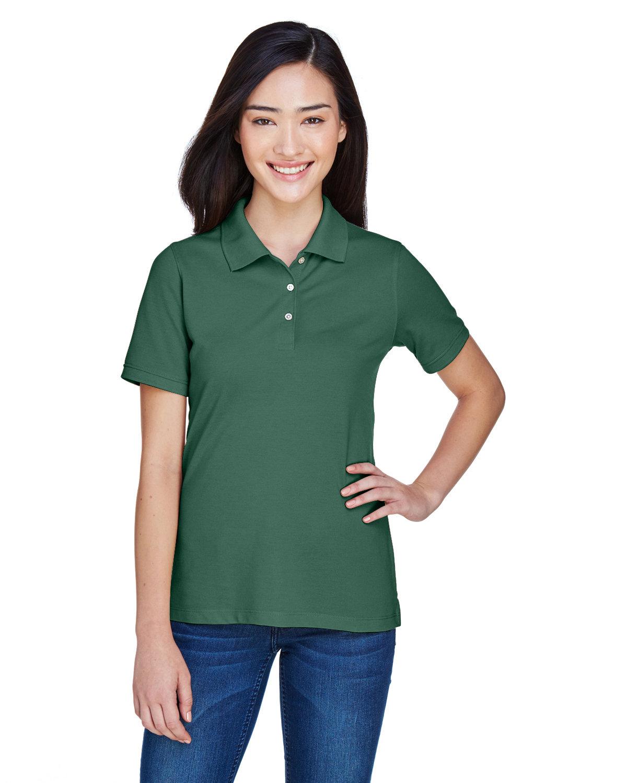 Harriton Ladies' 5.6 oz. Easy Blend™ Polo HUNTER