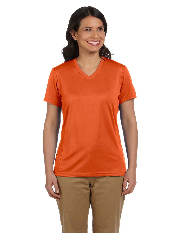 Harriton Ladies' 4.2 oz. Athletic Sport T-Shirt TEAM ORANGE