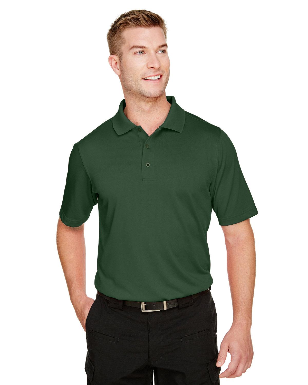 Harriton Men's Advantage Snag Protection Plus IL Polo DARK GREEN