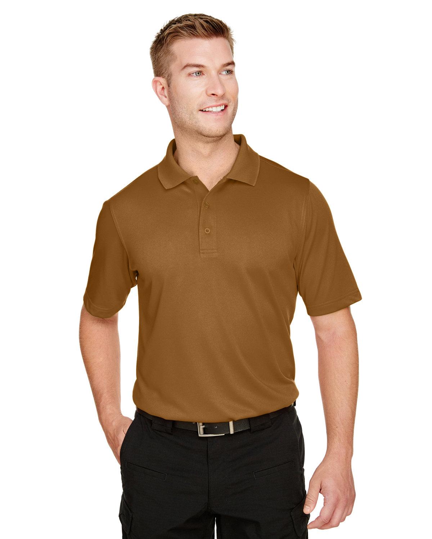 Harriton Men's Advantage Snag Protection Plus IL Polo DUCK BROWN