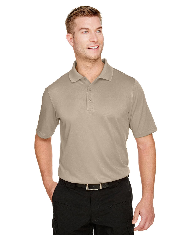 Harriton Men's Advantage Snag Protection Plus IL Polo KHAKI