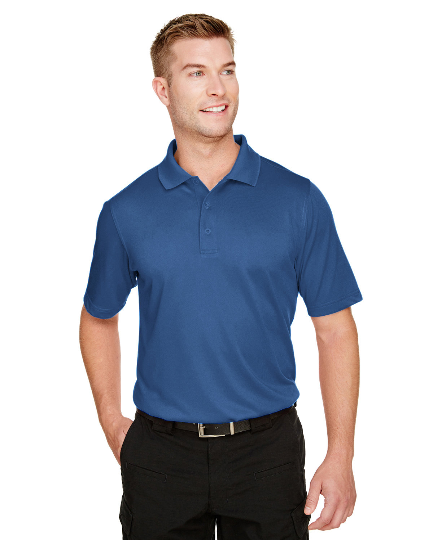 Harriton Men's Advantage Snag Protection Plus IL Polo POOL BLUE
