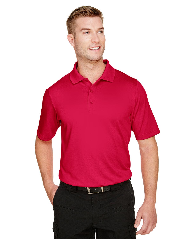 Harriton Men's Advantage Snag Protection Plus IL Polo RED