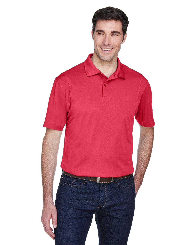 Harriton Men's Micro-Piqué Polo RED