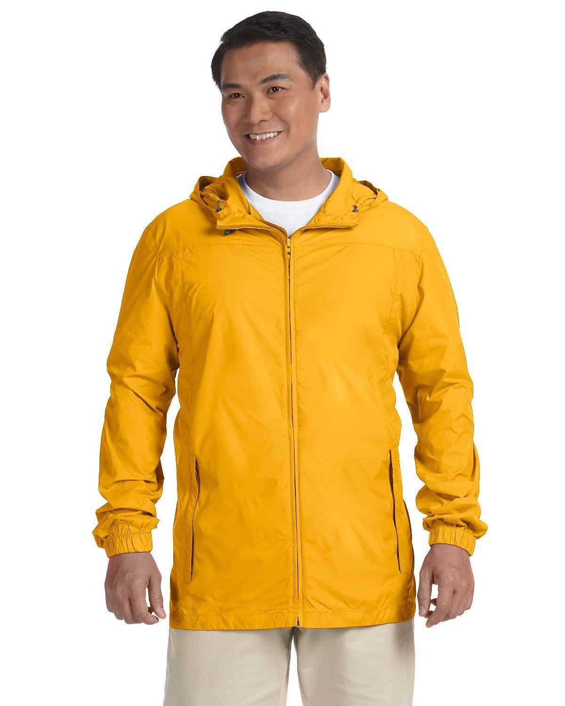 Harriton Men's Essential Rainwear SUNRAY YELLOW