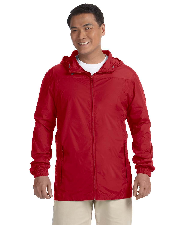 Harriton Men's Essential Rainwear RED