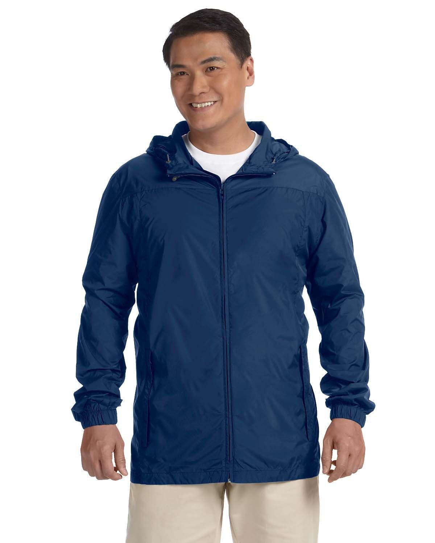 Harriton Men's Essential Rainwear NEW NAVY