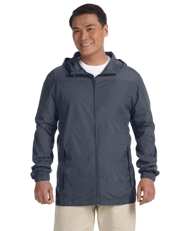 Harriton Men's Essential Rainwear GRAPHITE