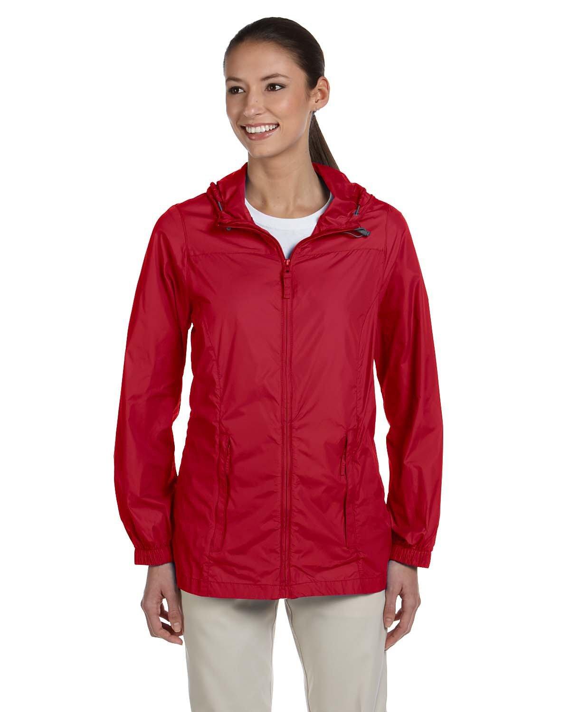 Harriton Ladies' Essential Rainwear RED