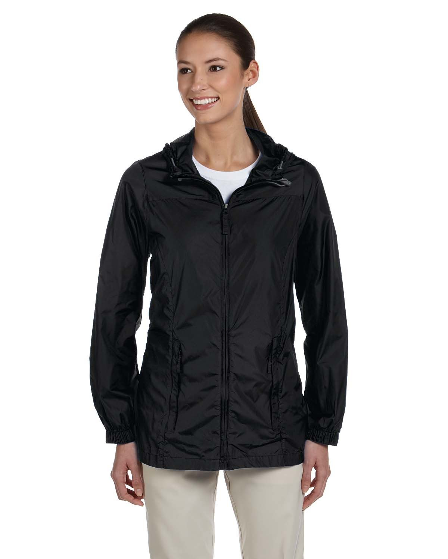 Harriton Ladies' Essential Rainwear BLACK