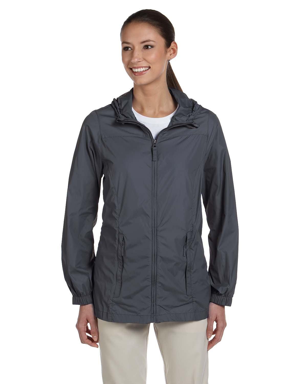 Harriton Ladies' Essential Rainwear GRAPHITE