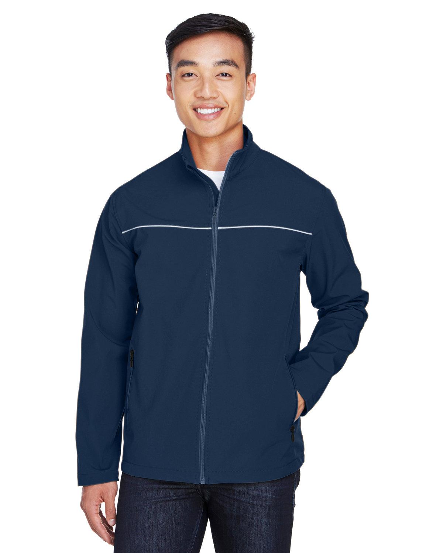 Harriton Men's Echo Soft Shell Jacket DARK NAVY