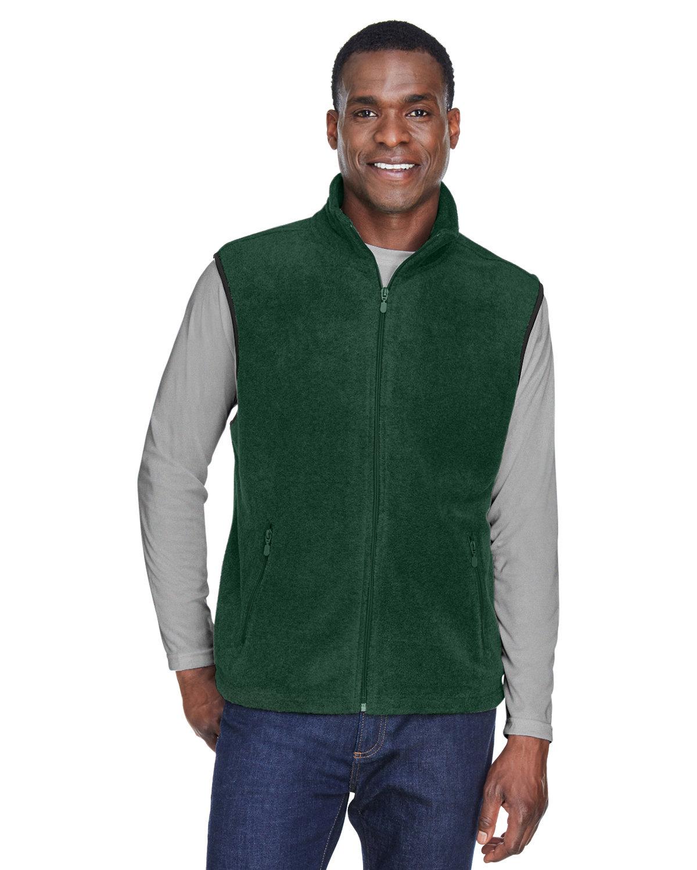Harriton Adult 8 oz. Fleece Vest HUNTER