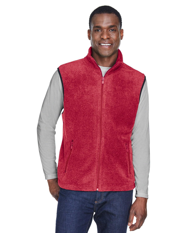 Harriton Adult 8 oz. Fleece Vest RED
