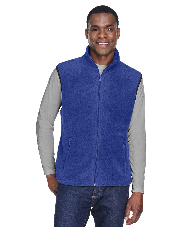 Harriton Adult 8 oz. Fleece Vest TRUE ROYAL