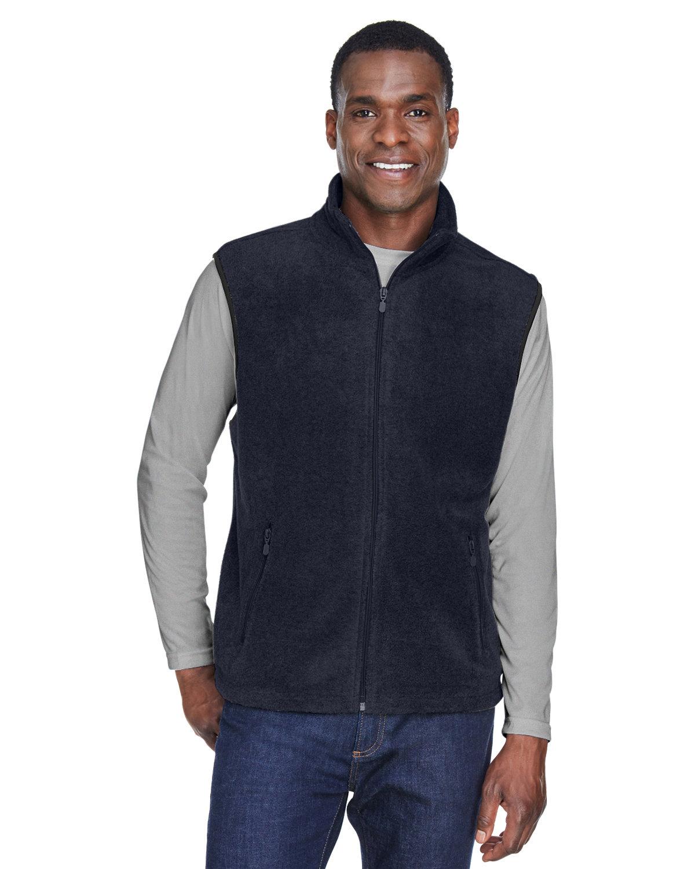 Harriton Adult 8 oz. Fleece Vest NAVY