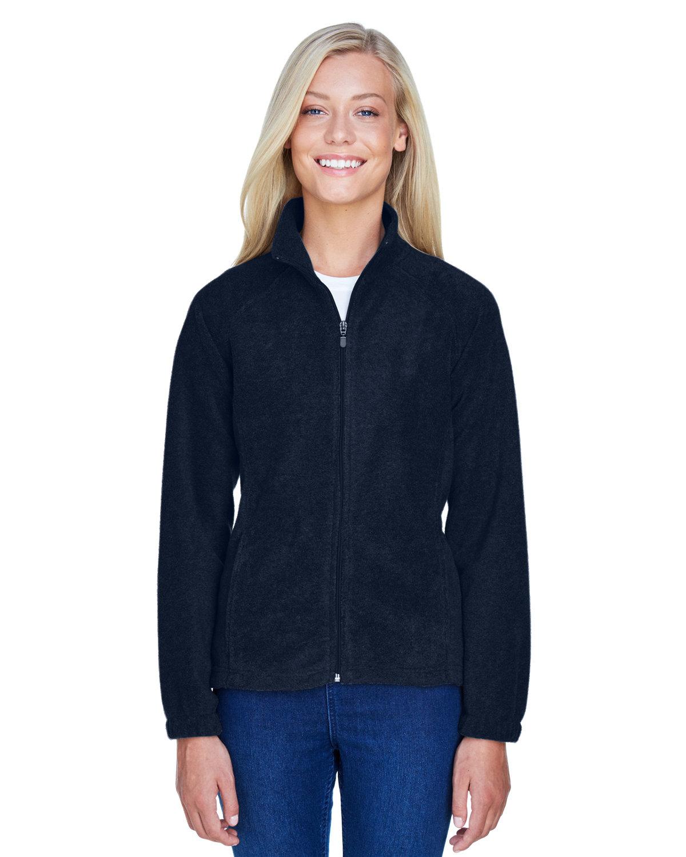 Harriton Ladies' 8 oz. Full-Zip Fleece NAVY