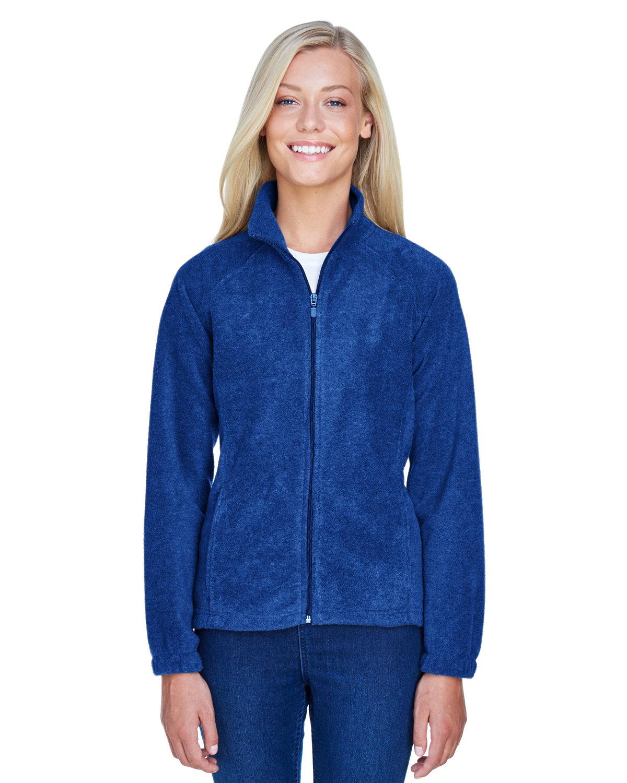 Harriton Ladies' 8 oz. Full-Zip Fleece TRUE ROYAL