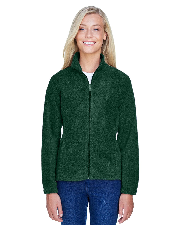 Harriton Ladies' 8 oz. Full-Zip Fleece HUNTER