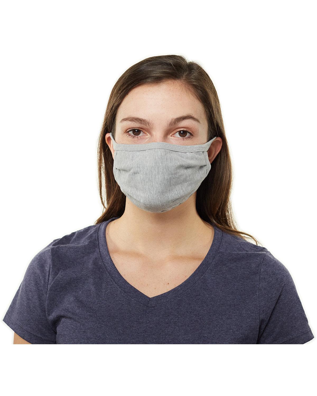 Hanes Adult 100% Cotton Face Mask CONCRETE