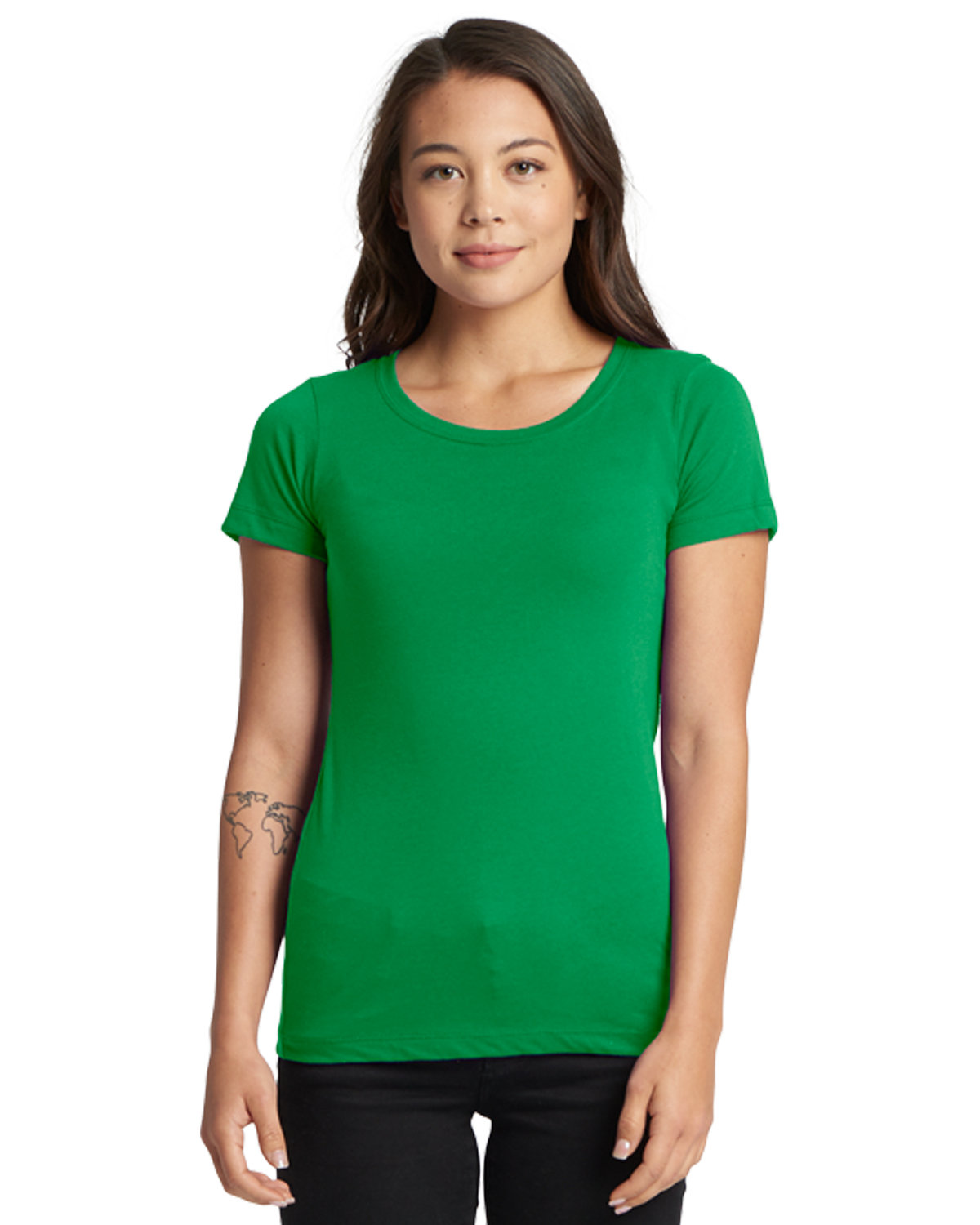 Next Level Ladies' Ideal T-Shirt KELLY GREEN
