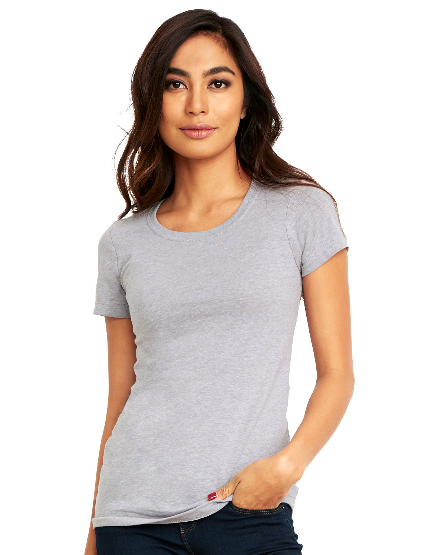 Next Level Ladies' Ideal T-Shirt HEATHER GRAY