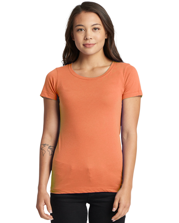 Next Level Ladies' Ideal T-Shirt LIGHT ORANGE