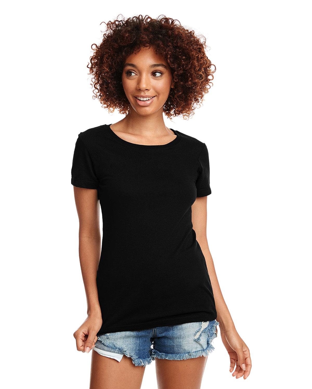 Next Level Ladies' Ideal T-Shirt BLACK