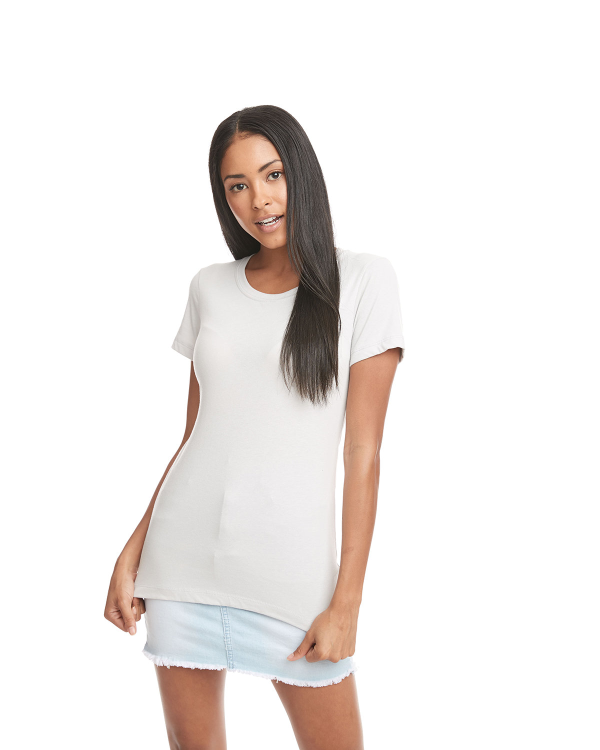 Next Level Ladies' Ideal T-Shirt SILVER