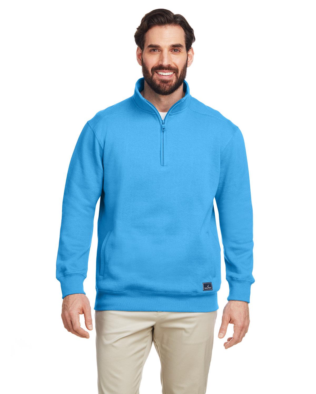 Nautica Men's Anchor Quarter-Zip Pullover AZURE BLUE