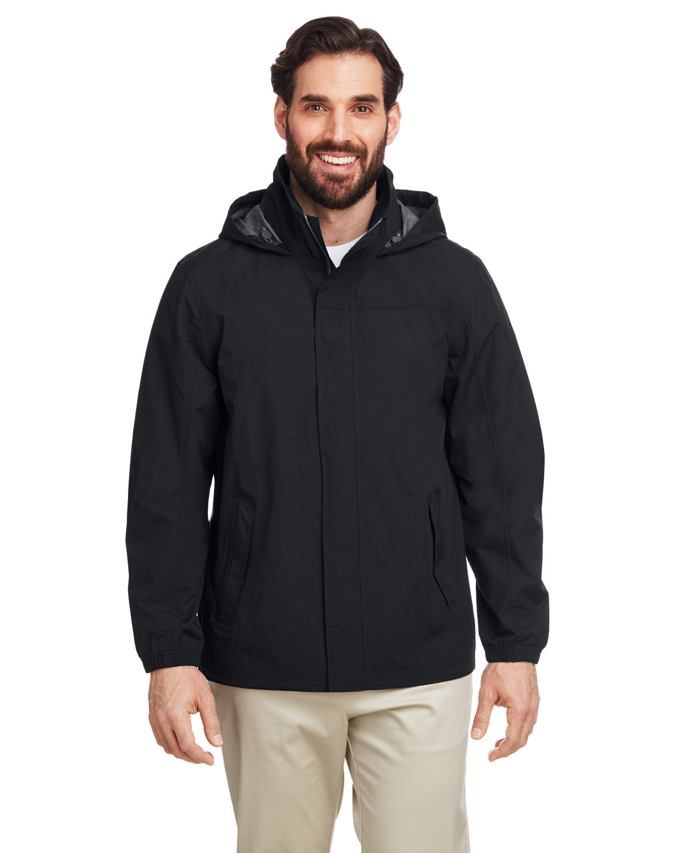 Nautica Men's Voyage Raincoat BLACK