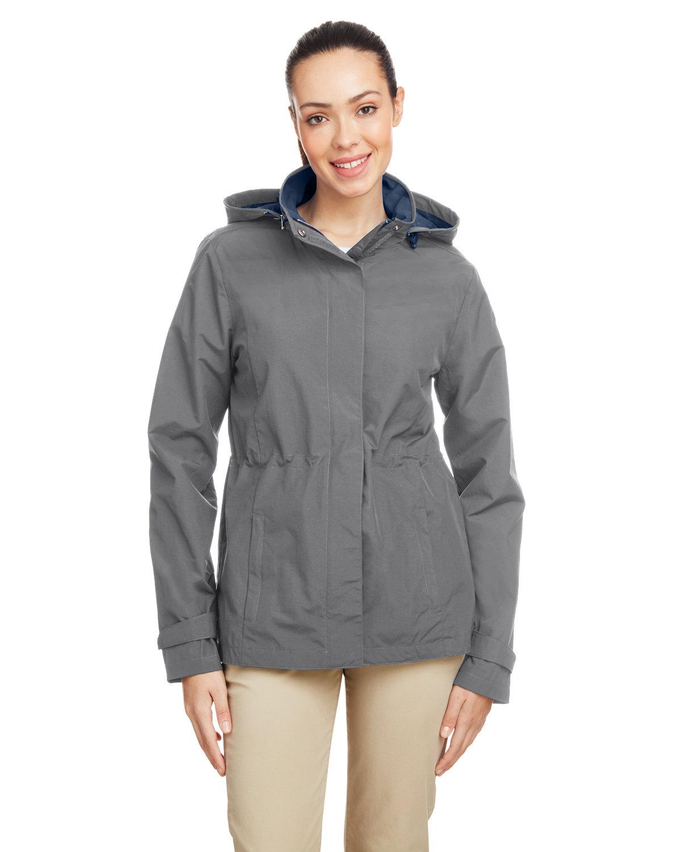 Nautica Ladies' Voyage Raincoat GRAPHITE