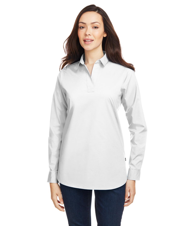 Nautica Ladies' Staysail Shirt WHITE