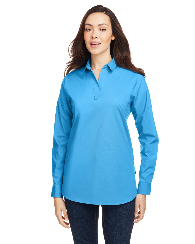 Nautica Ladies' Staysail Shirt AZURE BLUE