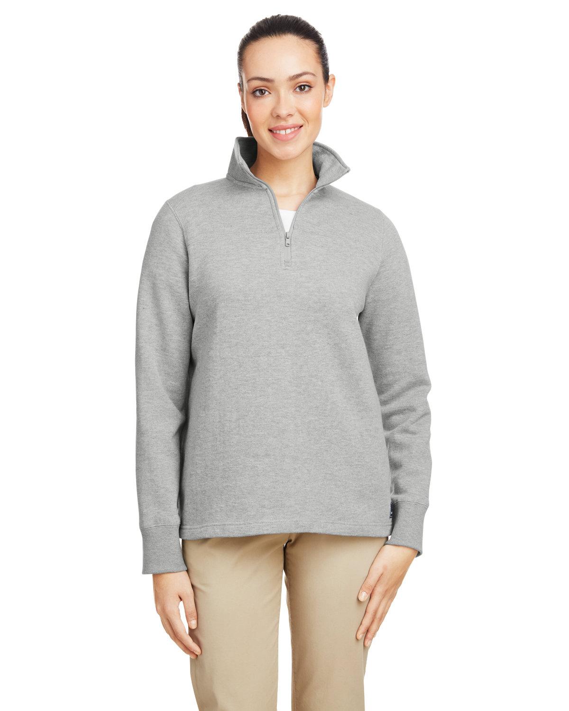 Nautica Ladies' Anchor Quarter-Zip Pullover OXFORD