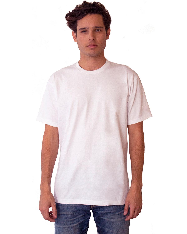 Next Level Unisex Ideal Heavyweight Cotton Crewneck T-Shirt WHITE