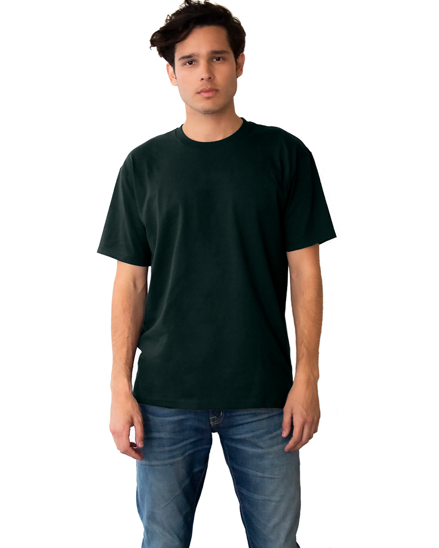 Next Level Unisex Ideal Heavyweight Cotton Crewneck T-Shirt FOREST GREEN