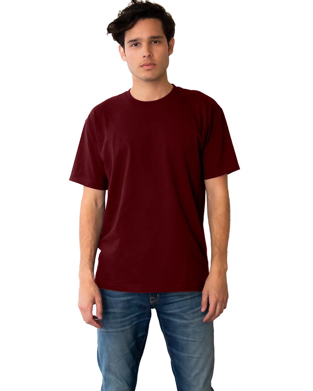 Next Level Unisex Ideal Heavyweight Cotton Crewneck T-Shirt MAROON