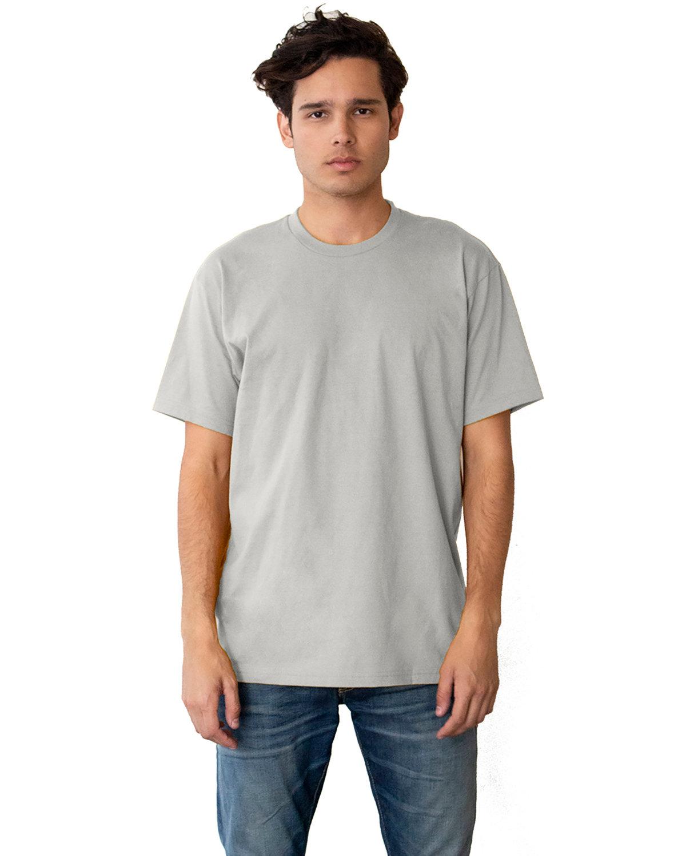 Next Level Unisex Ideal Heavyweight Cotton Crewneck T-Shirt SILVER