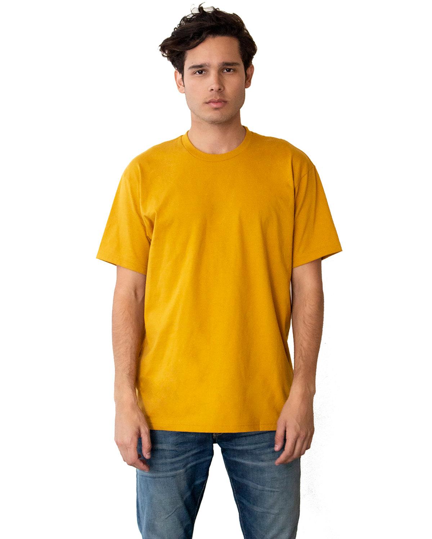 Next Level Unisex Ideal Heavyweight Cotton Crewneck T-Shirt ANTIQUE GOLD