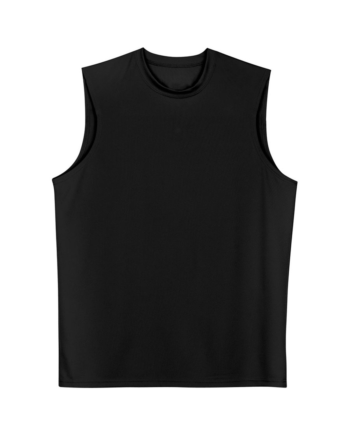 A4 Men's Cooling Performance Muscle T-Shirt BLACK