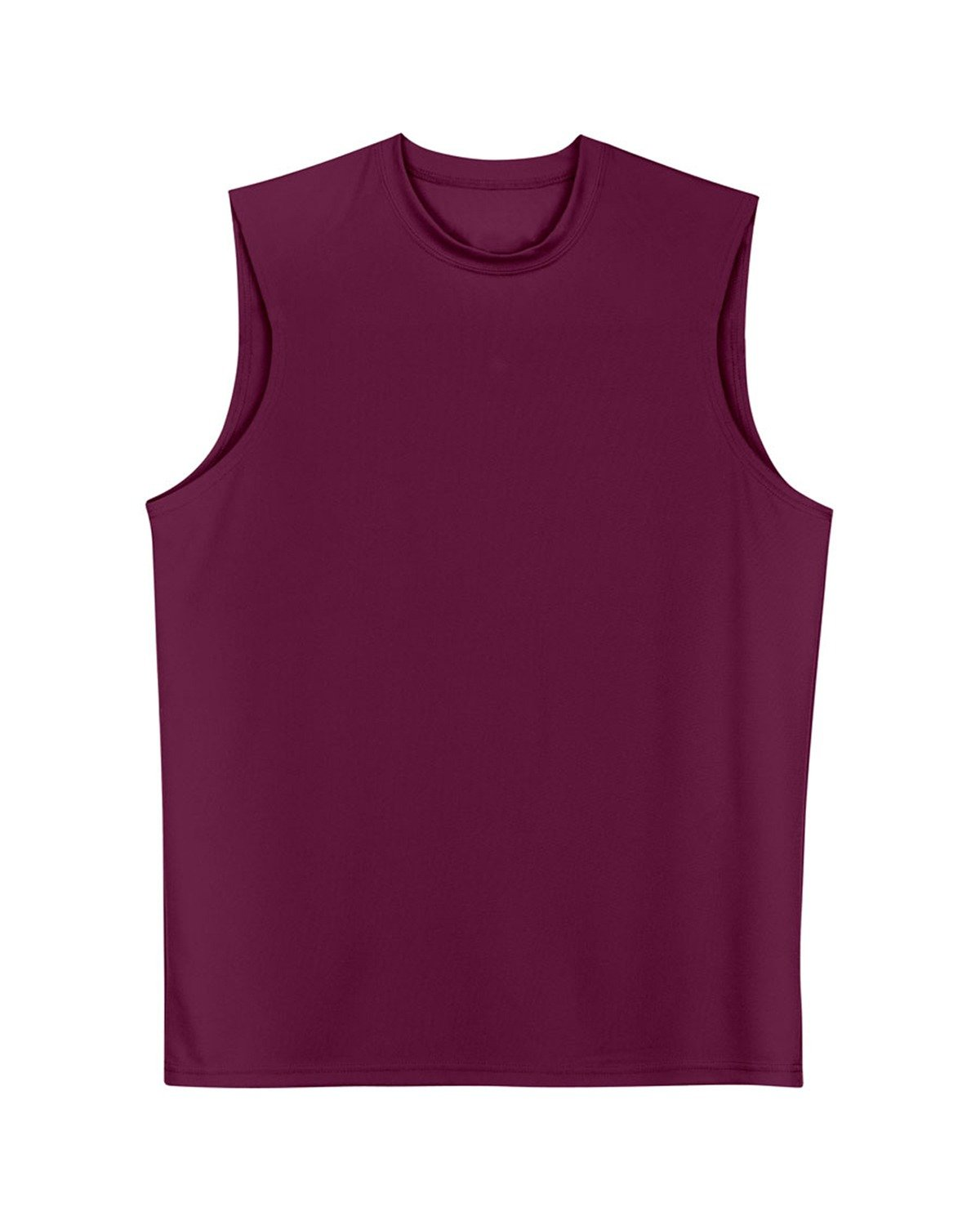A4 Men's Cooling Performance Muscle T-Shirt MAROON