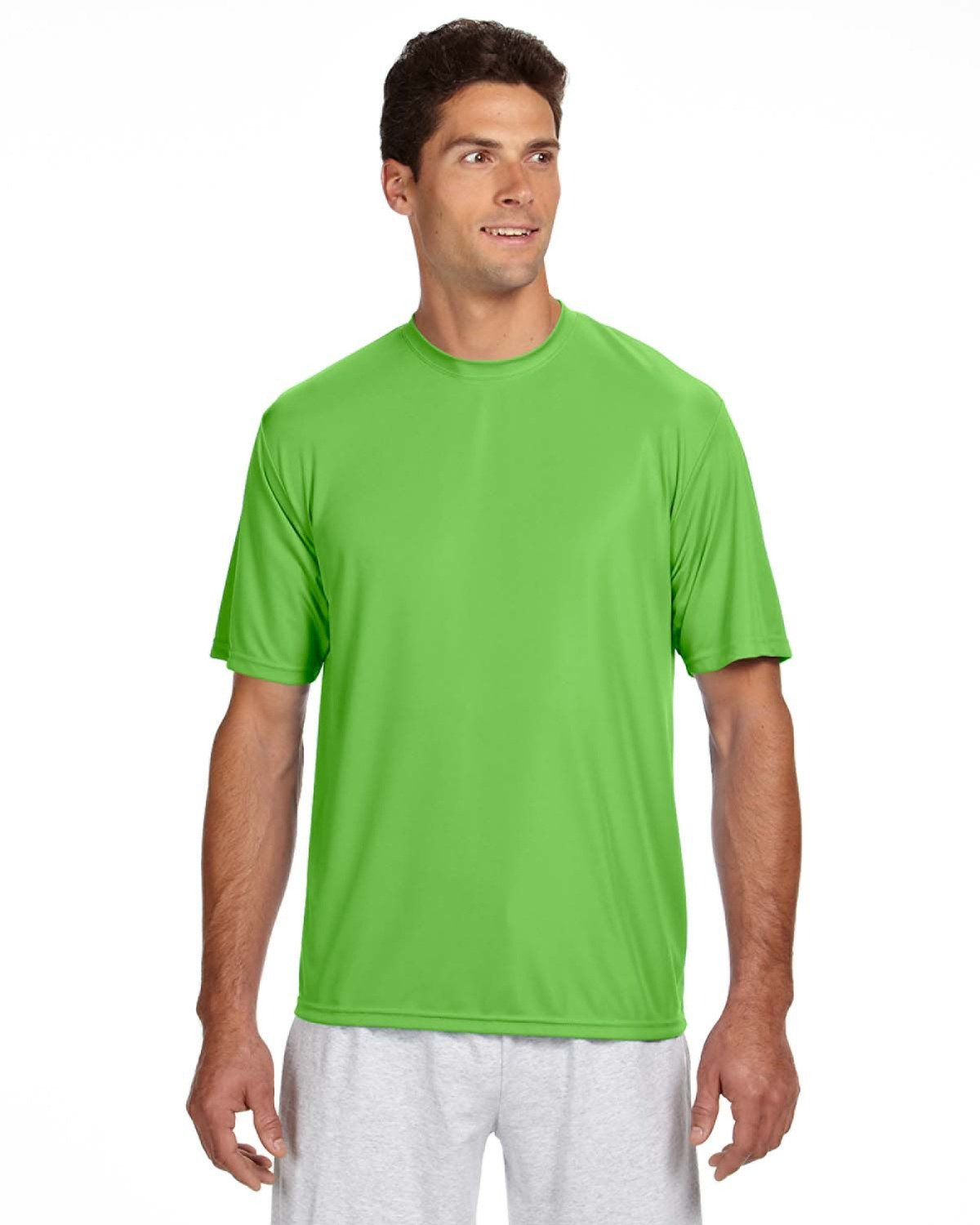 A4 Men's Cooling Performance T-Shirt LIME