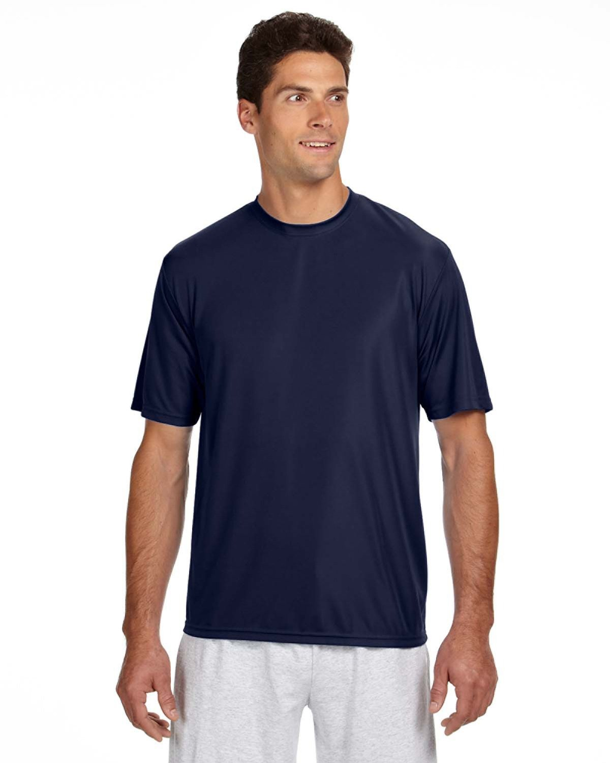 A4 Men's Cooling Performance T-Shirt NAVY