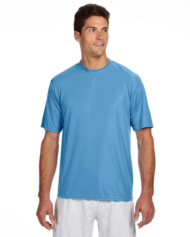 A4 Men's Cooling Performance T-Shirt LIGHT BLUE