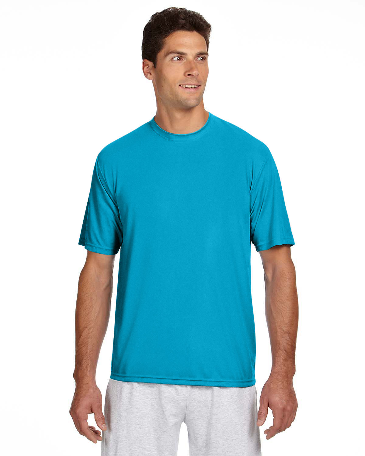 A4 Men's Cooling Performance T-Shirt ELECTRIC BLUE
