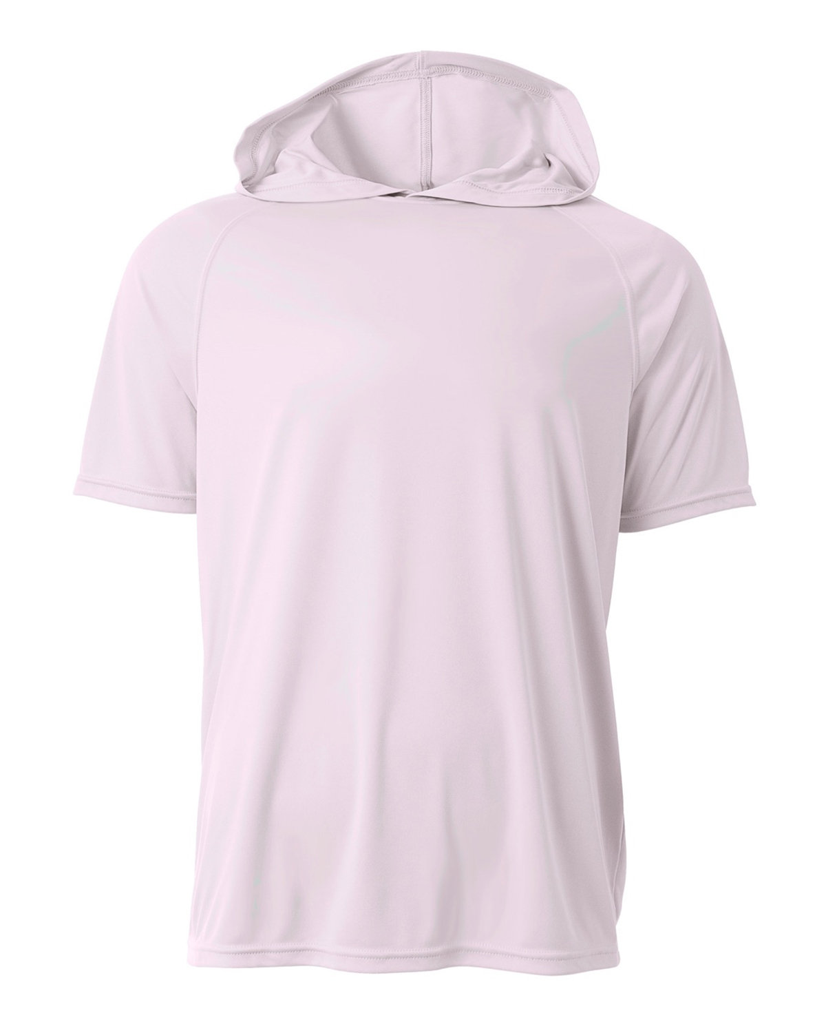 A4 Men's Cooling Performance Hooded T-shirt WHITE