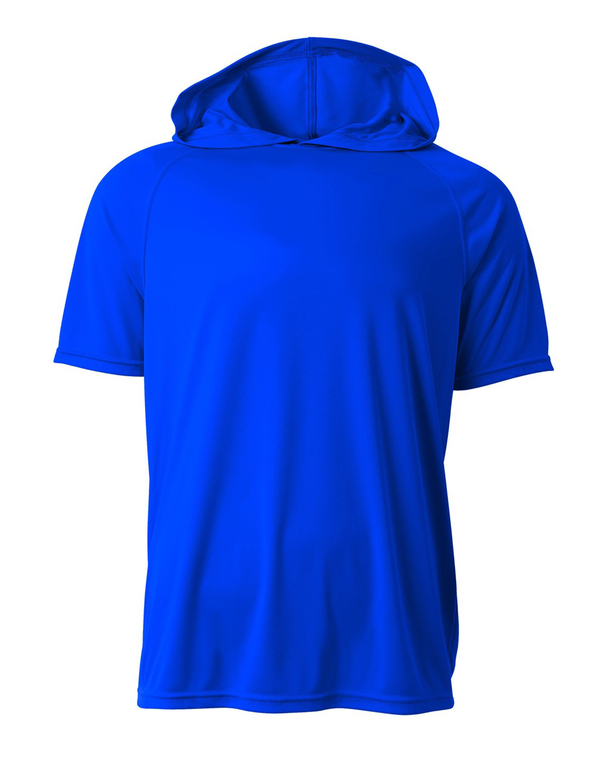 A4 Men's Cooling Performance Hooded T-shirt ROYAL